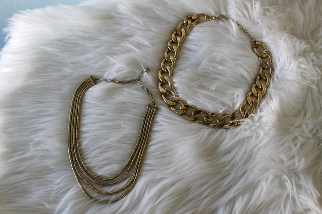 Gold Tone Necklaces