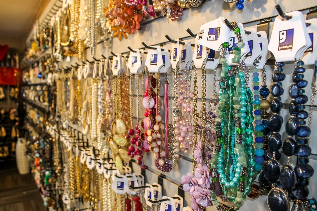 Jewelry Wall at Accents